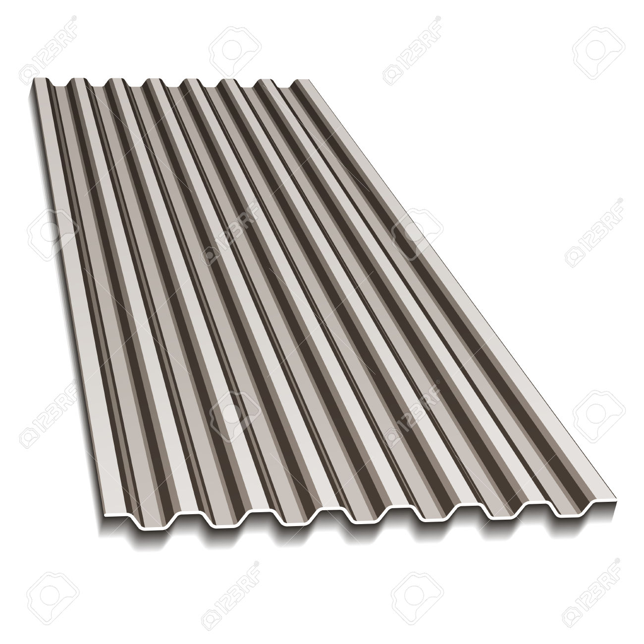 Corrugated Roofing Sheet Royalty Free Cliparts, Vectors, And Stock.