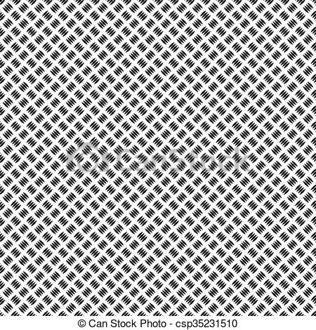 Vector Clip Art of Corrugated Metall.