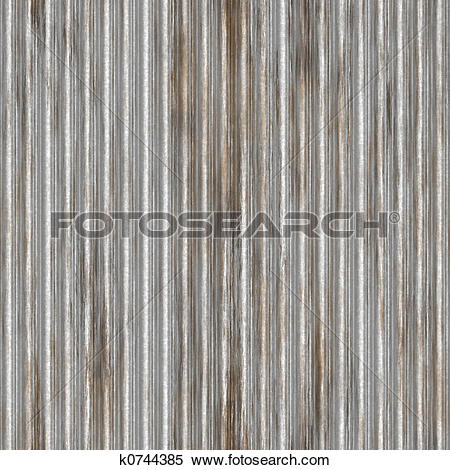 Stock Illustration of corrugated iron k0744385.