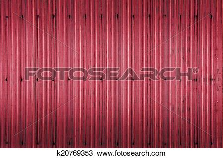 Drawing of red rusty corrugated iron metal texture k20769353.