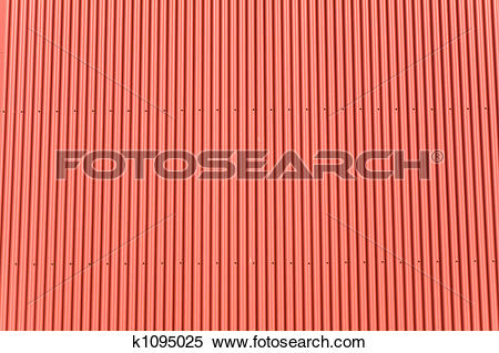 Stock Illustration of corrugated iron k1095025.