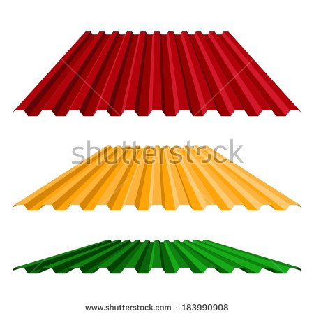 Corrugated Roof Stock Photos, Royalty.