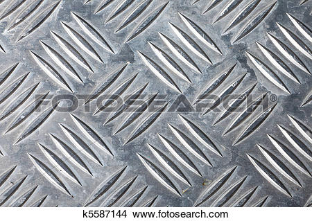 Stock Photo of dirty corrugated sheet metal background k5587144.