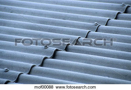 Pictures of Corrugated sheet roof mof00088.
