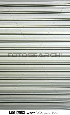 Stock Photography of Weathered galvanized and corrugated sheet.