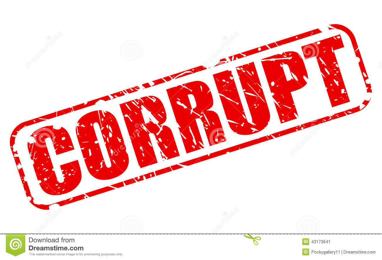 Corruption Clipart.