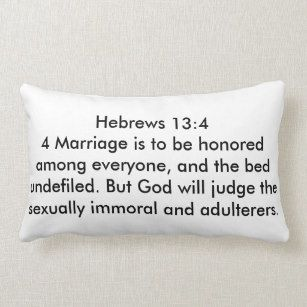 Hebrews 13:4 clipart.
