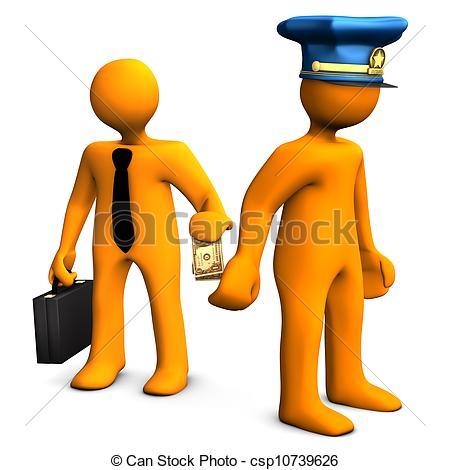 Police corruption Stock Illustrations. 274 Police corruption clip.