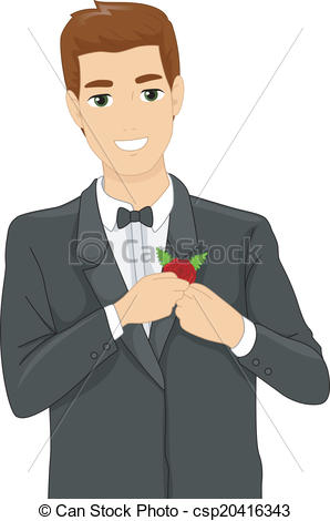 Corsage Clipart and Stock Illustrations. 357 Corsage vector EPS.