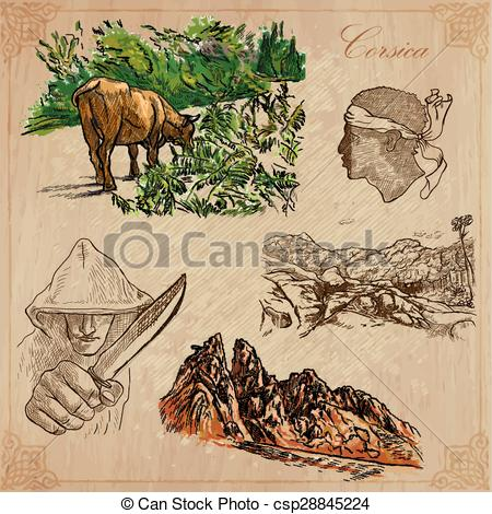 Corsica Vector Clipart Illustrations. 201 Corsica clip art vector.