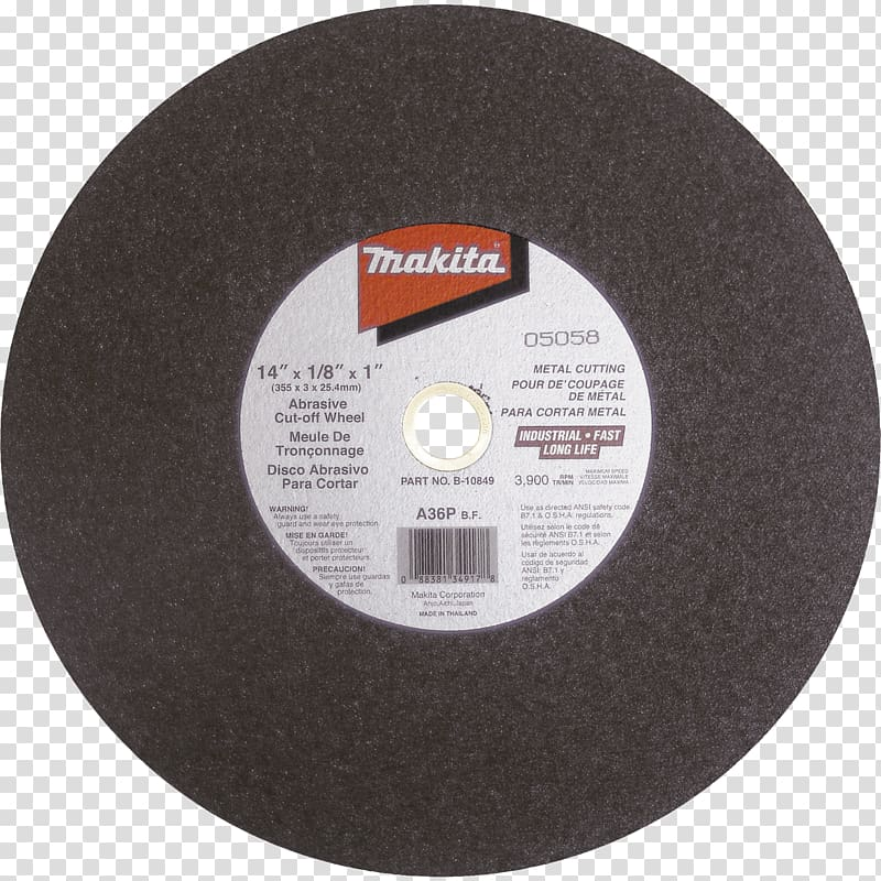 Abrasive saw Cutting Makita Metal Grinding wheel, others.