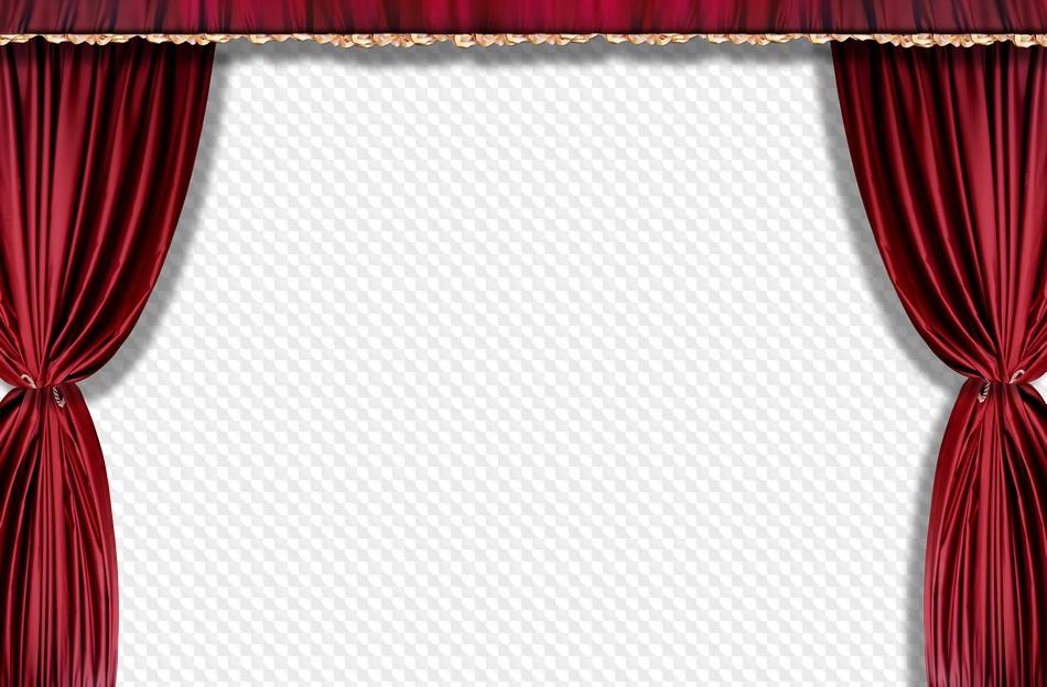 Escena, cortinas, PSD, PNG, imágenes en fondo transparente.