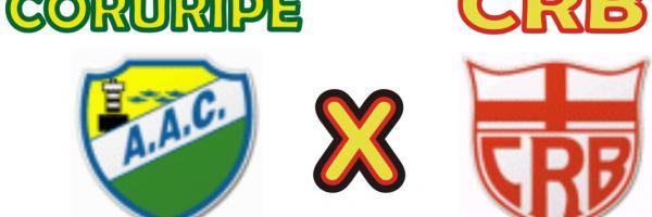 Coruripe e CRB são os finalistas do Campeonato Alagoano.