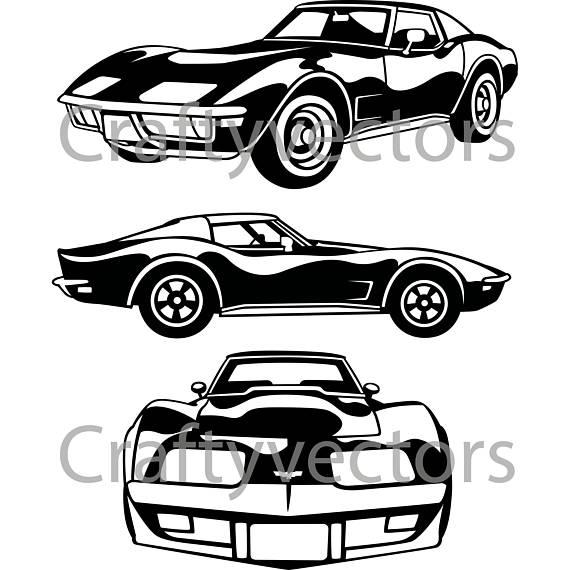 43+ Corvette Clipart.