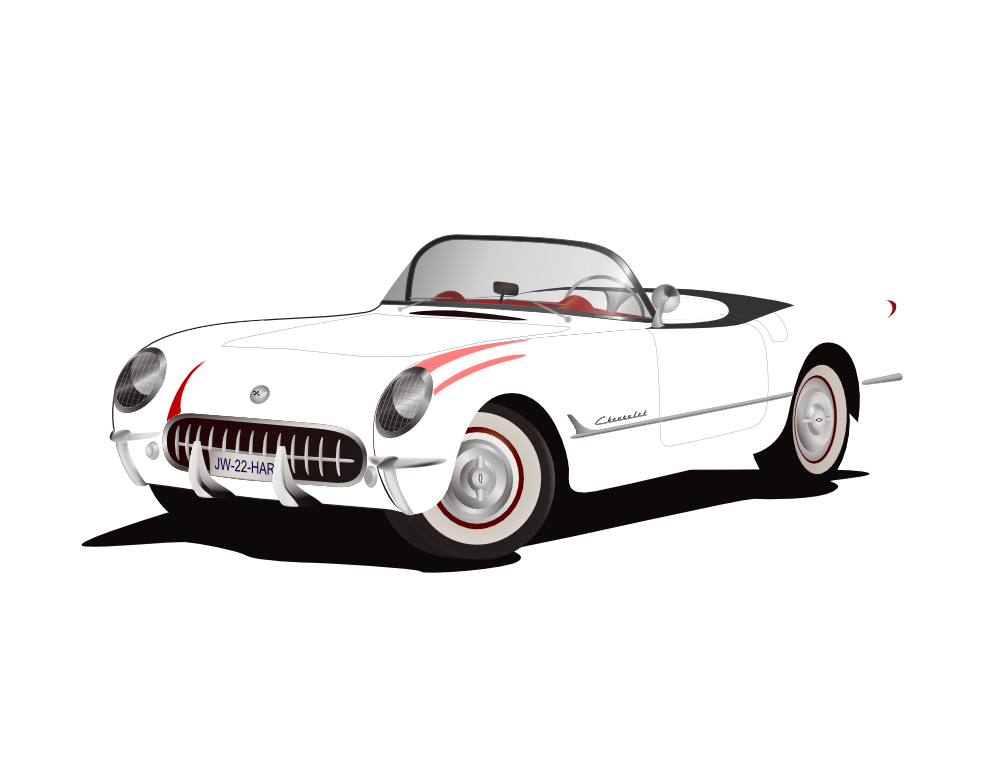 Best Corvette Clipart #8745.