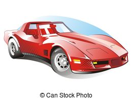 Corvette Clipart and Stock Illustrations. 142 Corvette vector EPS.