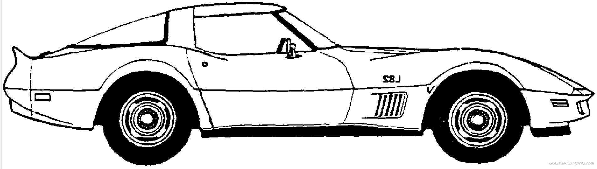 Corvette Clipart Free Clipart Images.