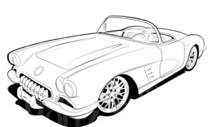 Corvette Clipart.