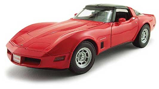 Red Corvette Clipart.