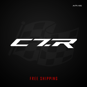 Details about Corvette C7.R Vinyl Decal Sticker.