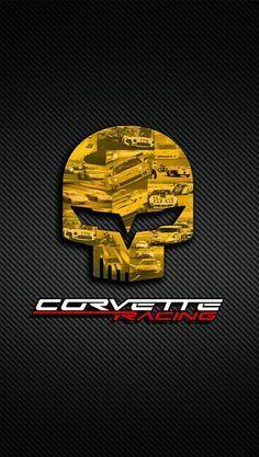 Corvette racing logo.