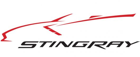 Corvette Stingray Logo Clipart.