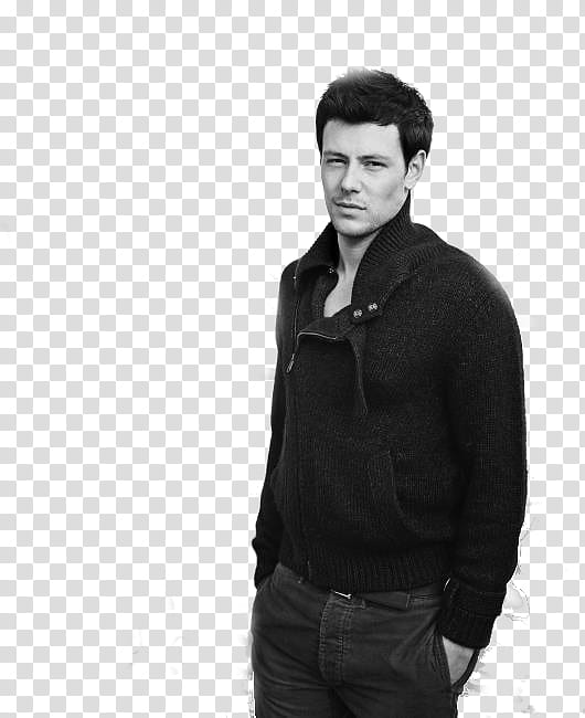 Cory Monteith transparent background PNG clipart.