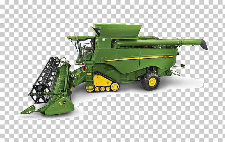 John Deere cosechadora cosechadora máquina segadora.