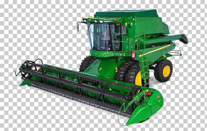 John Deere máquina cosechadora cosechadora agrícola tractor.