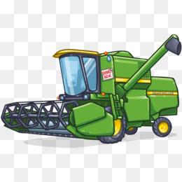 Cosechadora John Deere Agricultura Dibujo Clip art.