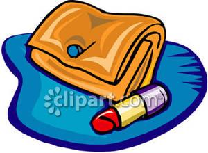 Clip Art Makeup Bag Clipart.