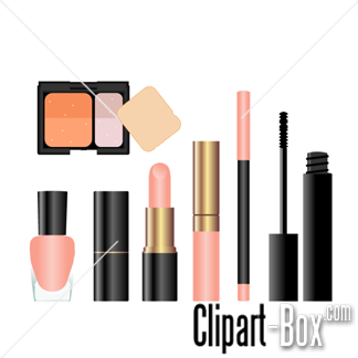 CLIPART COSMETIC SET.