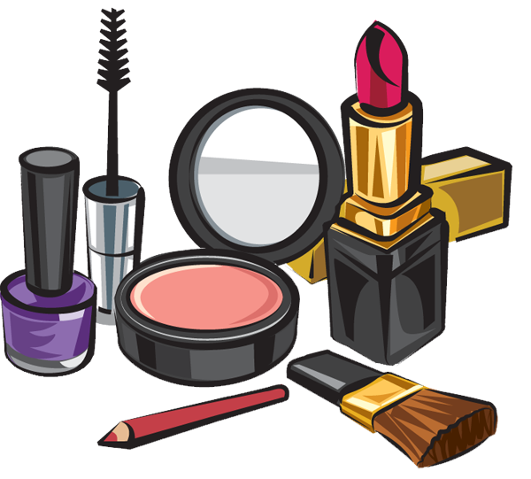 Cosmetic items download free clipart with a transparent.
