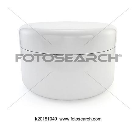 Stock Illustration of Cosmetic jar k20181049.