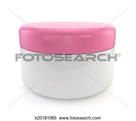 Stock Illustration of Cosmetic jar k20181065.