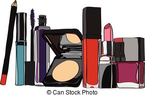 Cosmetics Items Clip Art And Stock Illustrations 718