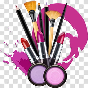 Cosmetic product , Cosmetics Drawing Watercolor painting Lipstick.