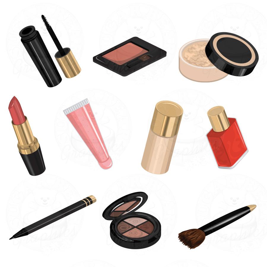Cosmetics clip art.