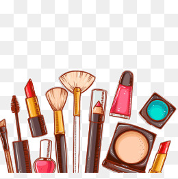 Cartoon Cosmetics Png, Vector, PSD, and Clipart With Transparent.