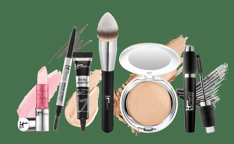 It Cosmetics Makeup Kit transparent PNG.