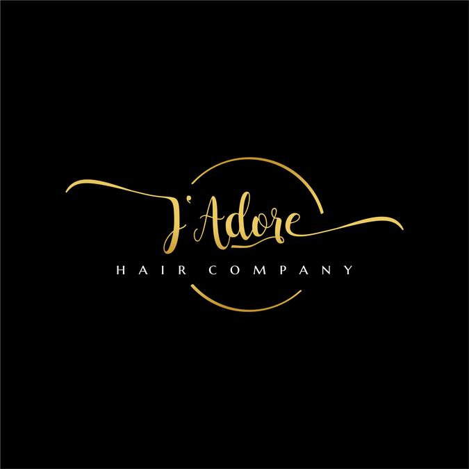 Hair Extensions & Cosmetics Logo (J\'Adore Hair Company.