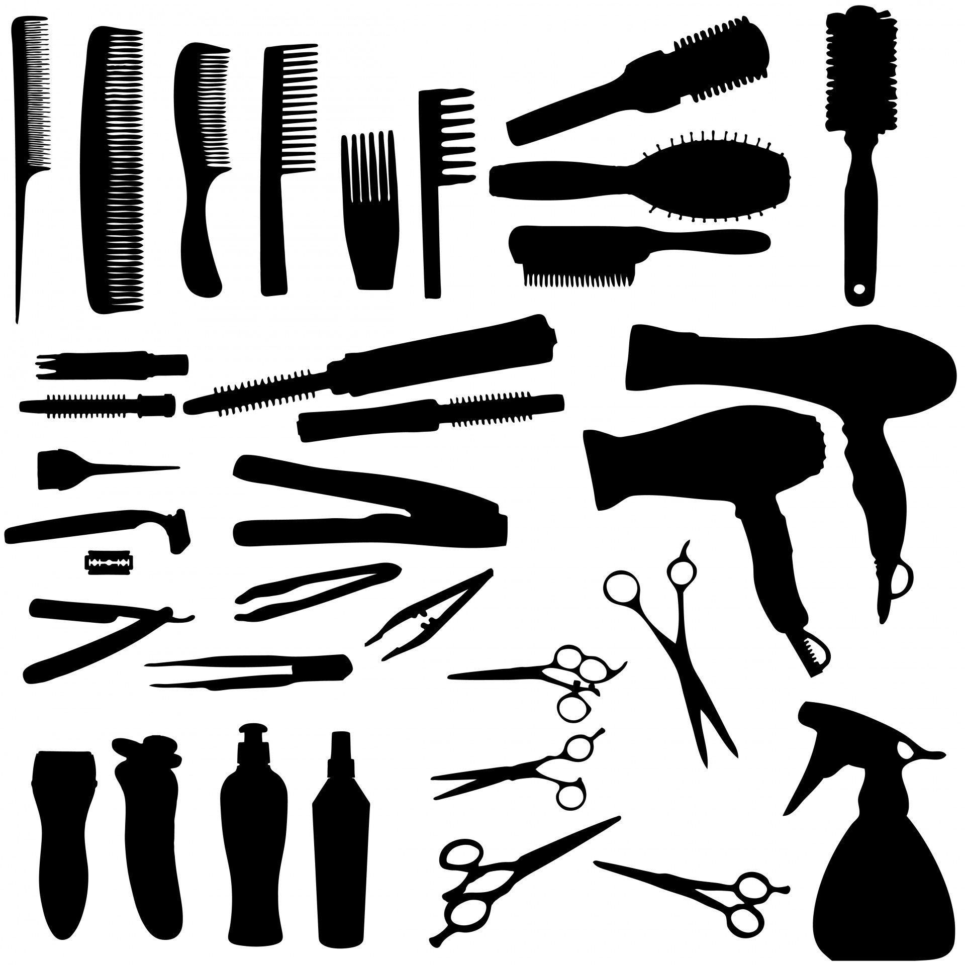 115 Cosmetology free clipart.