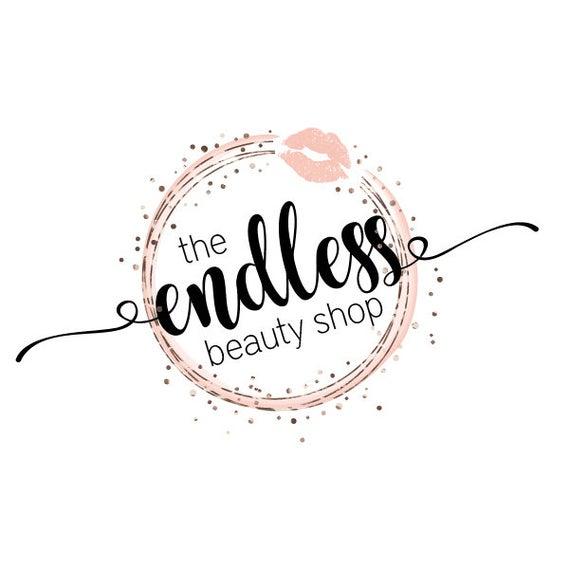 Cosmetology Logo, Makeup Artist Logo, LipSense Logo, Direct Marketing Logo,  Lips Logo, Boutique Logo, Salon Logo, Premade Logo.