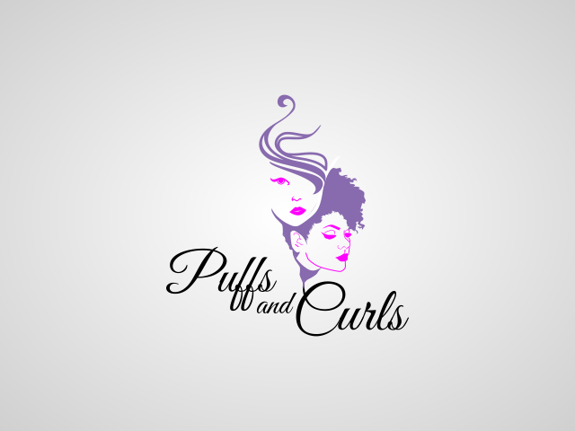Bold, Professional, Cosmetology Logo Design for Puffs and.