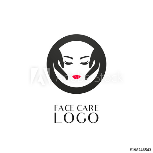 Beauty salon creative logo design template. Cosmetology.