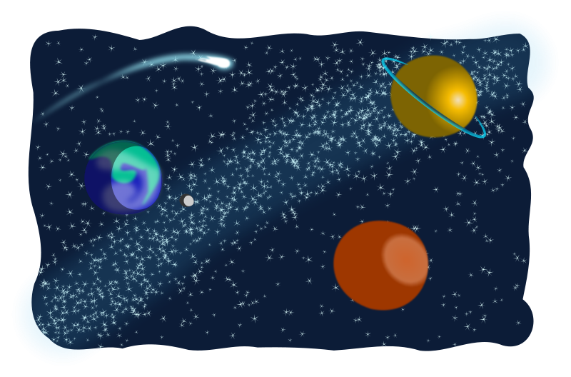 Free clipart cosmic.