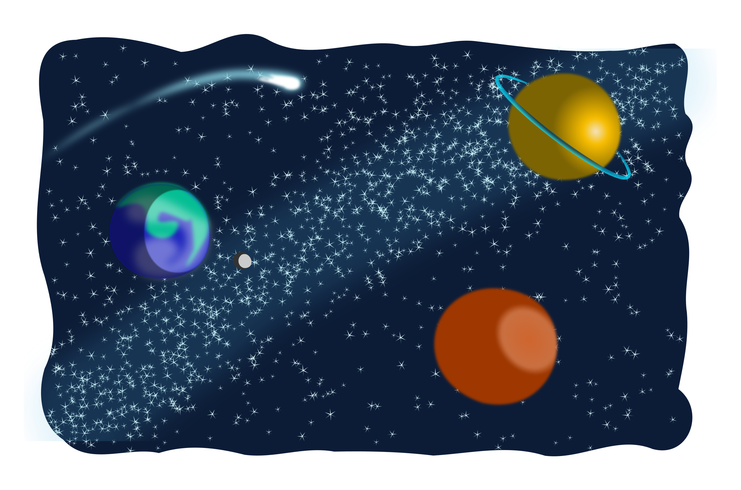Cosmic Space Clipart