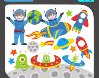 Outer space clip art.