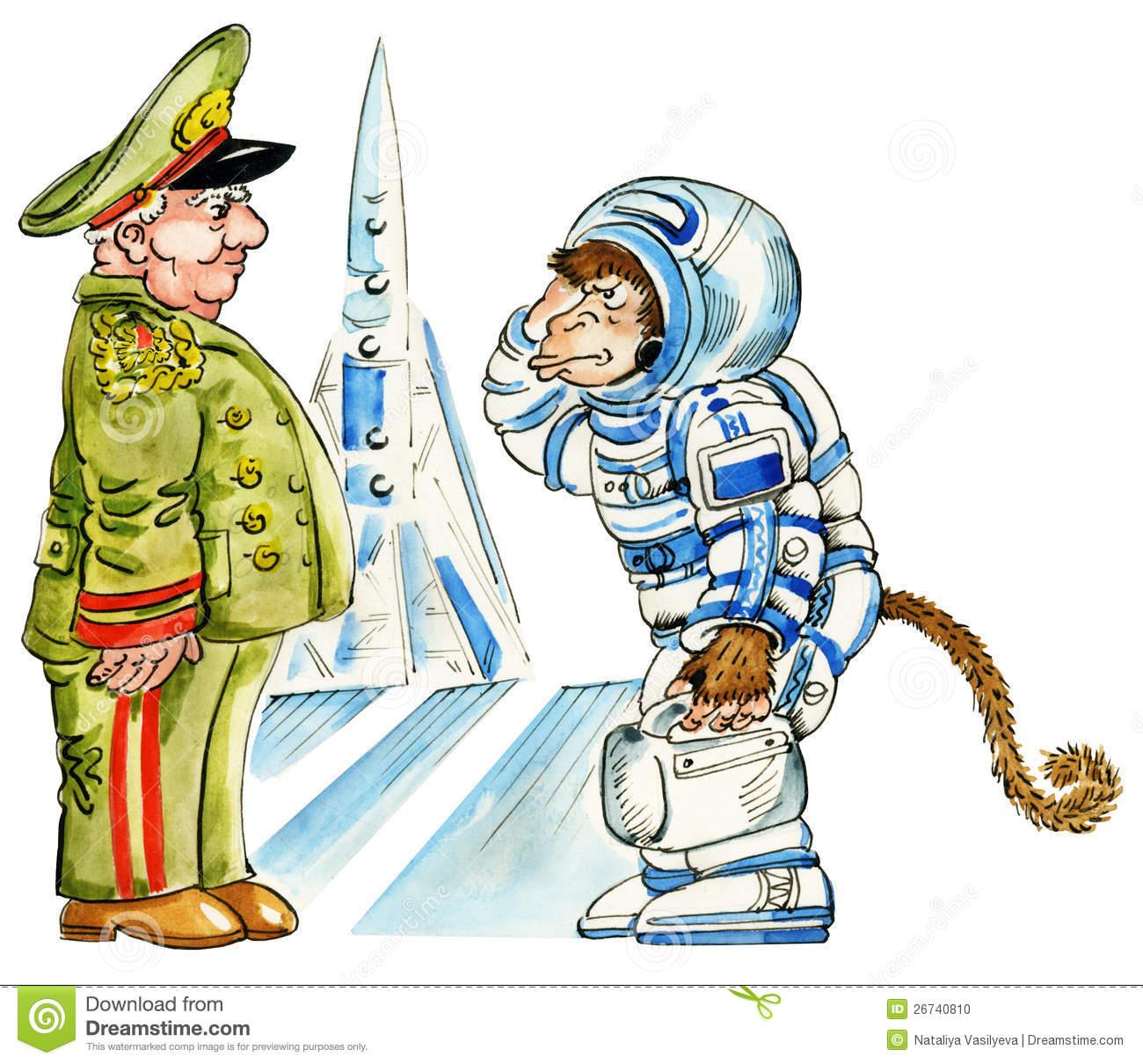 Cosmodrome Stock Illustrations.