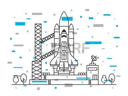 253 Cosmodrome Stock Illustrations, Cliparts And Royalty Free.